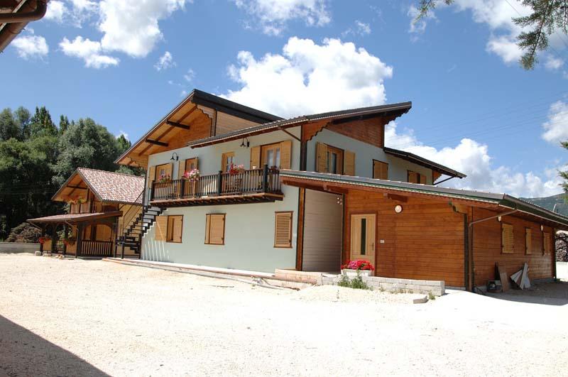 Modele case din lemn