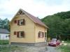 Casa din lemn masiv
