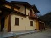 Casa din lemn lamelar cu mansarda