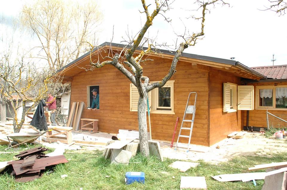 Casa lemn masiv Harghita