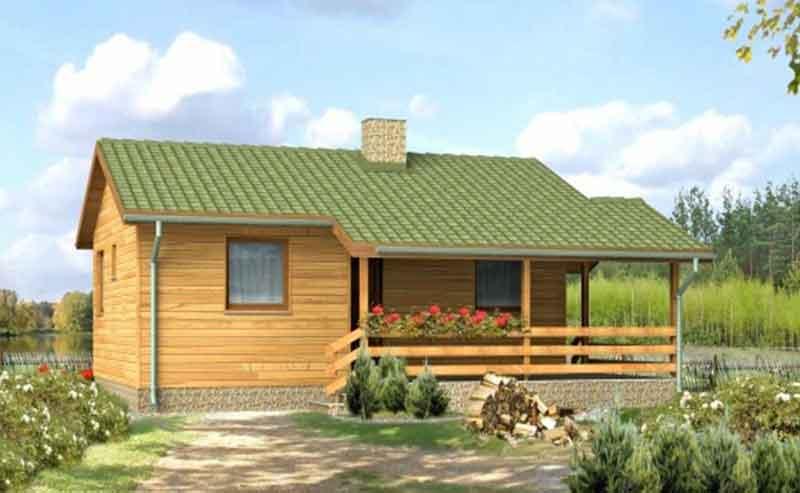 Case din lemn Viola
