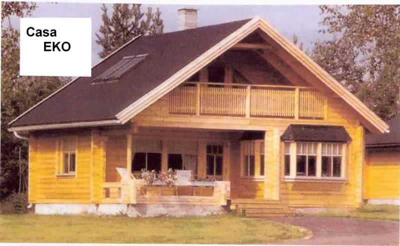 Case din lemn Eko